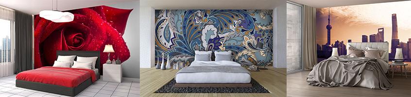 Pomysł na ścianę nad łóżkiem