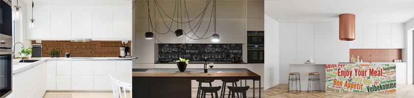 Tapety z napisami do kuchni