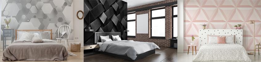 Fototapety 3D do sypialni