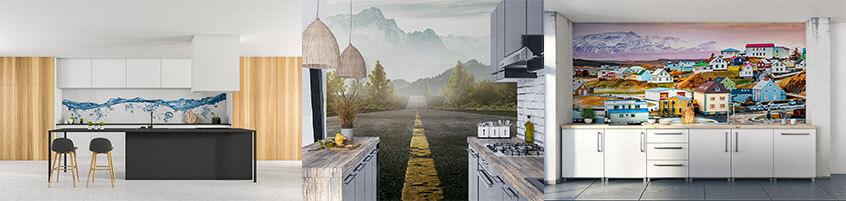 Funkcjonalne i efektowne – przestrzenne oraz zmywalne fototapety do kuchni!