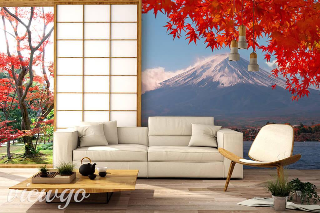 Fototapeta - Jesienny widok na Fuji - Viewgo