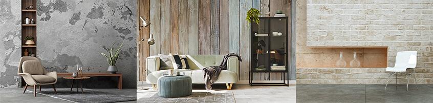 Dekoracja mieszkania w stylu loftowym – Fototapety do salonu