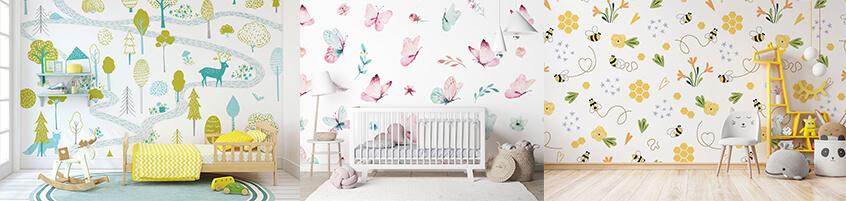 Odmień kąt swojego malucha – fototapeta do pokoju dziecka