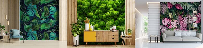 Roślinny dywan na Twojej ścianie – Fototapety z motywem roślin
