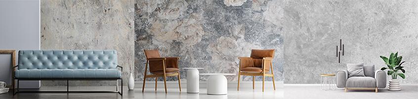 Pomysł na industrialne wnętrze – Fototapety z motywem betonu
