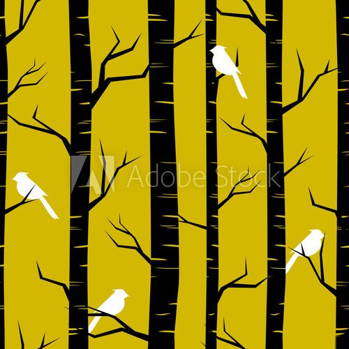 Fototapeta Abstract Forest Background