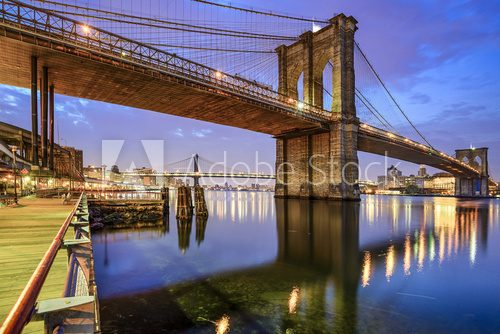 Fototapeta Brooklyn Bridge in New York City