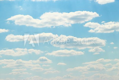 Fototapeta clouds in the blue sky