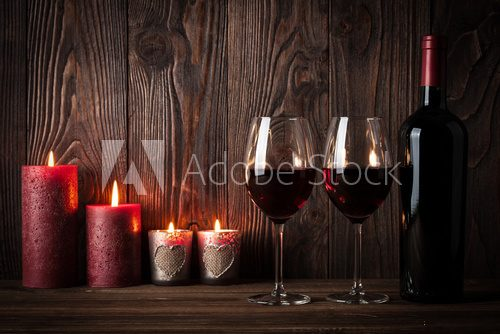 Fototapeta Romantic Valentine's day background