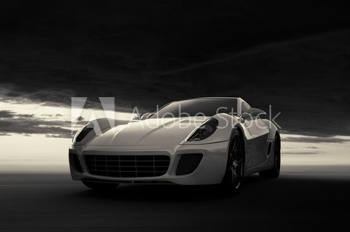 Fototapeta Sports Car