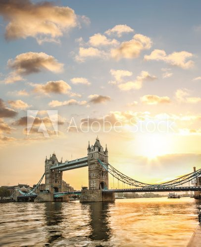 Fototapeta Tower Bridge in London, England